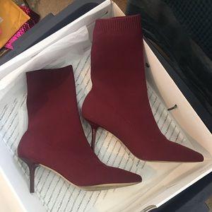 Aldo bordeaux stylish boots